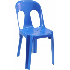 Pipee Slotted Chair, Blue